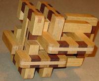 6-piece burr puzzle